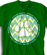 elementary t shirt zig zag fun desn 924z2 - School T Shirt Design Ideas