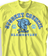 Elementary T Shirt  - Spirit Choice desn-788s2