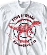 Elementary T Shirt Design - Dino Field Trip desn-680d1