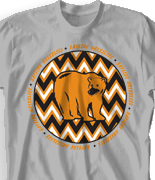 elementary t shirt design zig zag fun desn 924z1 - School Spirit T Shirt Design Ideas