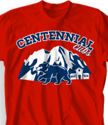 Elementary T Shirt Design - Cubs Camp desn-714c4