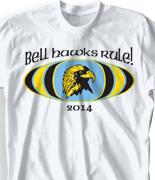 Elementary T Shirt Design - M-Spirit clas-369n2