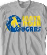 Elementary T Shirt Design - Retro Jaguar clas-830r3