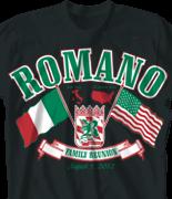 Family Reunion T Shirt - Italy Reunion desn-445i7