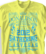 Family Reunion T Shirt - Exciteable desn-433e1