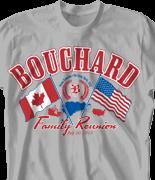 Family Reunion T Shirt - Canada Reunion 2 desn-449i9