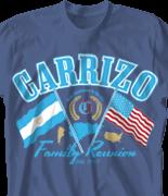 Family Reunion T Shirt - Argentina Reunion 2 desn-446i1