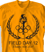 Field Day T Shirt Design - The Games desn-462t1