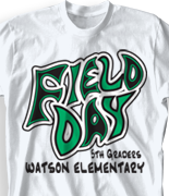 Field Day T Shirt Design - Confusion clas-570d4