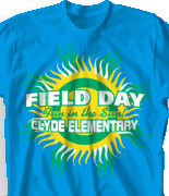 Field Day T Shirt Design - Sirocco clas-333s5