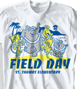 Field Day T Shirt Design - Leaders Life clas-816l2