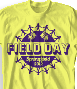 Field Day T Shirt Design - Forever United desn-453f1