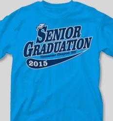 Graduation T Shirts - Retro Script clas-631s1