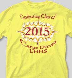Graduation T Shirts - Shockwave clas-187s5