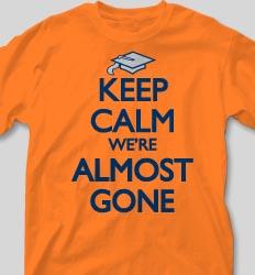 Graduation T Shirts - Keep Calm desn-613n3