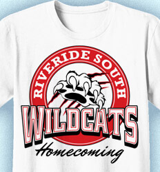 Homecoming T Shirt - Leaders Crest clas-910l6