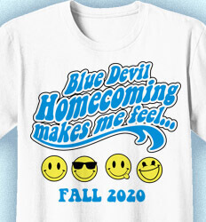 Homecoming T Shirt - Exciteable desn-433e8