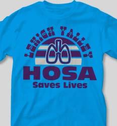 HOSA Club Shirts - Sunset Sounds clas-660t8
