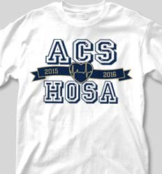 HOSA Club Shirts - Jersey Banner clas-823m7
