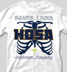 HOSA Club Shirts - HOSA Medical cool-178h1
