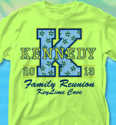 KeyLime Cove Shirt Design - Big Letter desn-351c9
