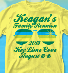 Family Reunion Shirt Design Ideas custom t shirt design 2010 family reunion shirts Keylime Cove Shirt Design Shades Of Summer Desn 361s4