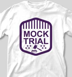 Mock Trial Shirts - Modern Trial cool-202m1