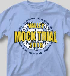 Mock Trial Shirts - Honor Crest cool-59h4