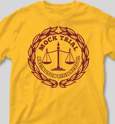 Mock Trial Shirts - Mock Emblem cool-201m1