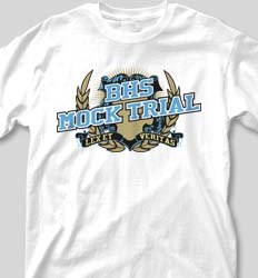Custom mock trial team t shirts quick free shipping for Custom shirts fast delivery