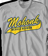 Mohonk Mountain Reunion T Shirt - A-League desn-618a8