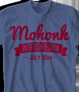 Mohonk Mountain Reunion T Shirt - Powderpuff Challenge desn-558p4