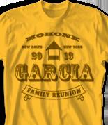 Mohonk Mountain Reunion T Shirt - Old School Reunion desn-758o1