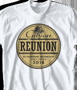Mohonk Mountain Reunion T Shirt - Circularis desn-125d2