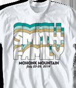 Mohonk Mountain Reunion T Shirt - Nassau clas-792q5