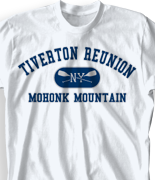 Mohonk Mountain Reunion T Shirt - Athletic clas-480i5