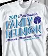 Mohonk Mountain Reunion T Shirt - Reunion House desn-755r1