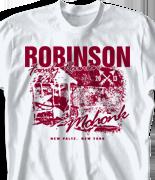 Mohonk Mountain Reunion T Shirt - Summer at Mohonk desn-760s1