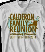 Mohonk Mountain Reunion T Shirt - New York Reunion desn-755n1