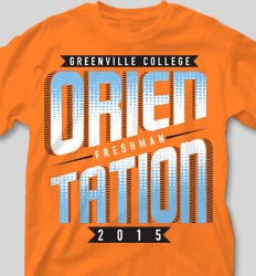 New Student Orientation T Shirts - Transition Week cool-112t1