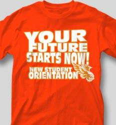 New Student Orientation T Shirts - Beach Walk Slogan clas-954g3
