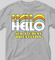 New Student Orientation T Shirts - Nassau clas-792t3