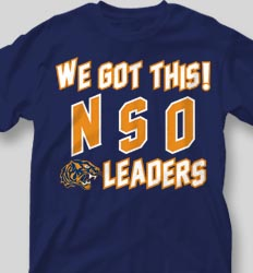 New Student Orientation T Shirts -Tiger Collegiate desn-646t3