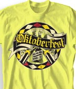 Oktoberfest T Shirt - Classic German desn-840c1