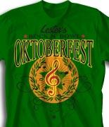 Oktoberfest T Shirt  - Honor Choir desn-814h1