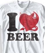 Oktoberfest T Shirt  - Beer Love desn-438b1
