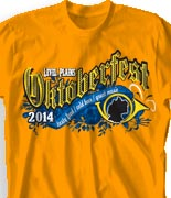 Oktoberfest T Shirt  - Oktober Harvest desn-846o1