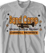 School Band Shirts - Stars Fun Day desn-466s2