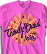 School Band Shirts - Band Show desn-745b1