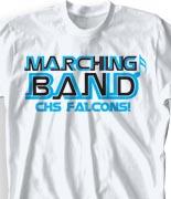 School Band Shirts - Orbit clas-711o9